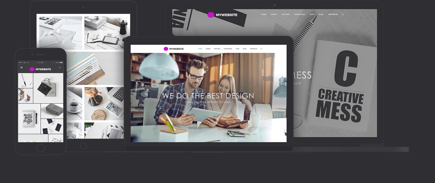 sfondo device - Creazione Siti Web Napoli | Web Design - Web Agency Napoli Flashex