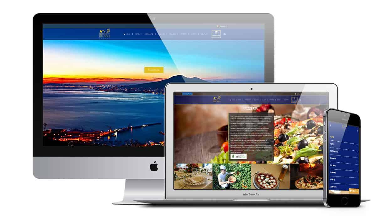 hotel alberghi siti web - Creazione Siti web per Alberghi - Hotel - Web Agency Napoli Flashex