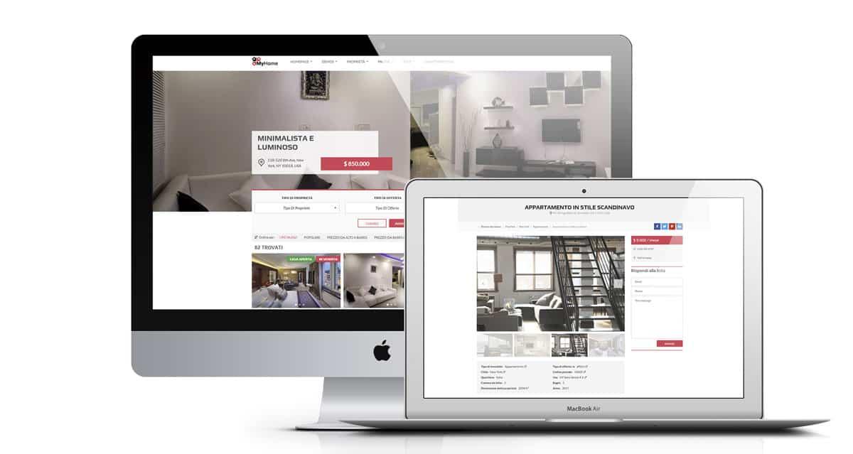 immobiliare - Creazione Siti web per Agenzie Immobiliari - Web Agency Napoli Flashex