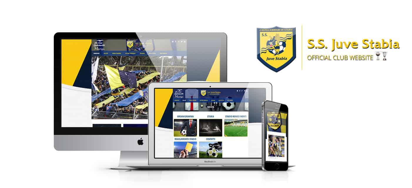 Realizzazione sito web società calcio – S.S. JUVE STABIA