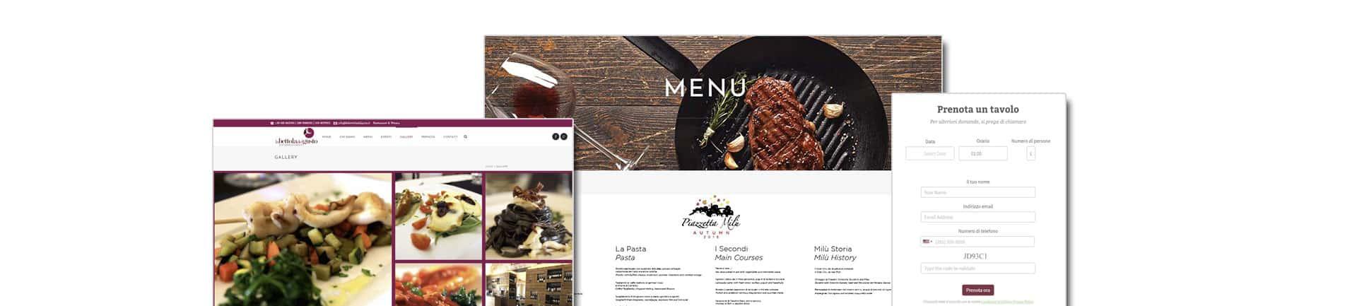 ristorante piede sfondo 1 - Siti web per Ristoranti, Pub, Winebar - Web Agency Napoli Flashex