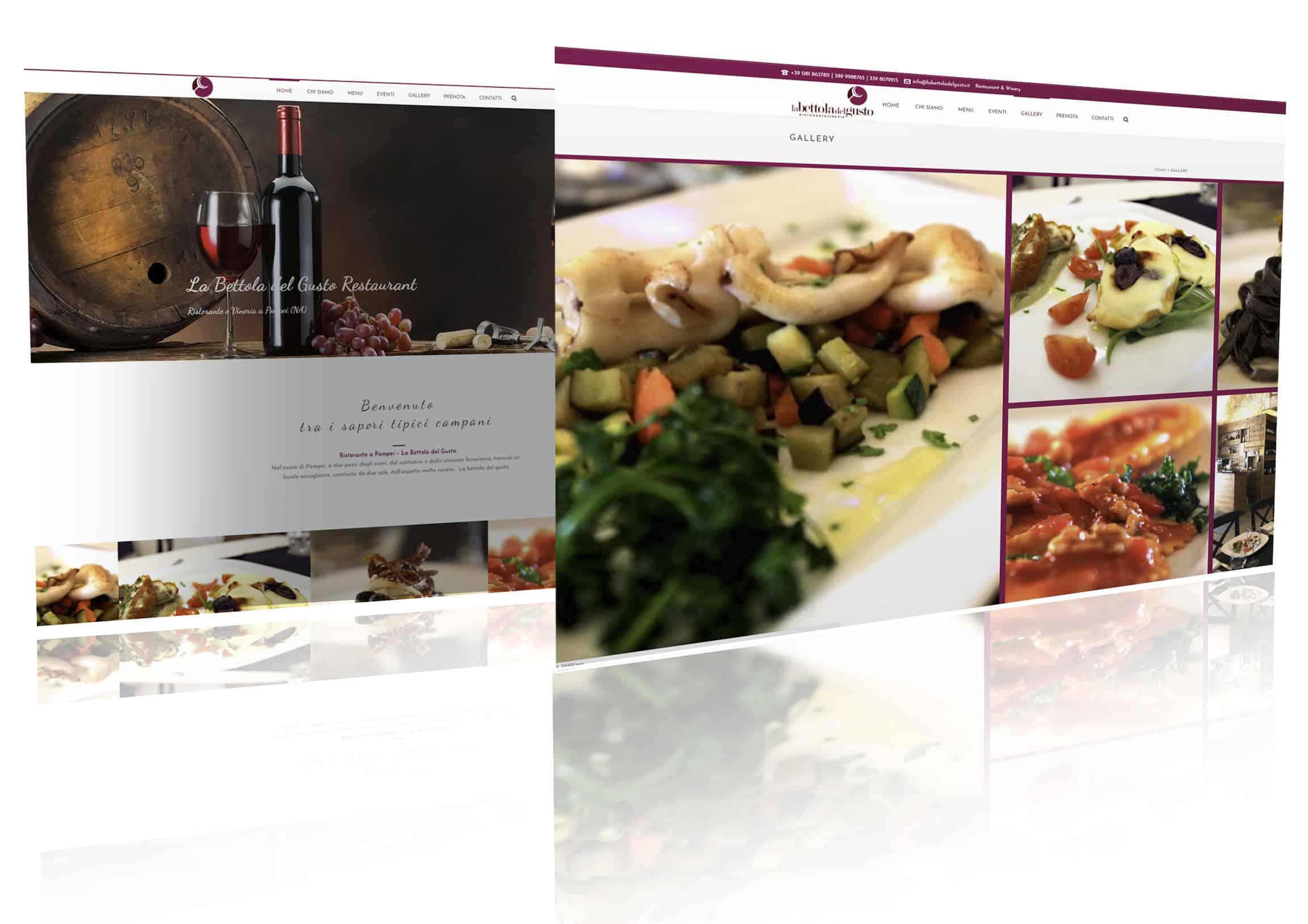 ristoranti siti web - Siti web per Ristoranti, Pub, Winebar - Web Agency Napoli Flashex
