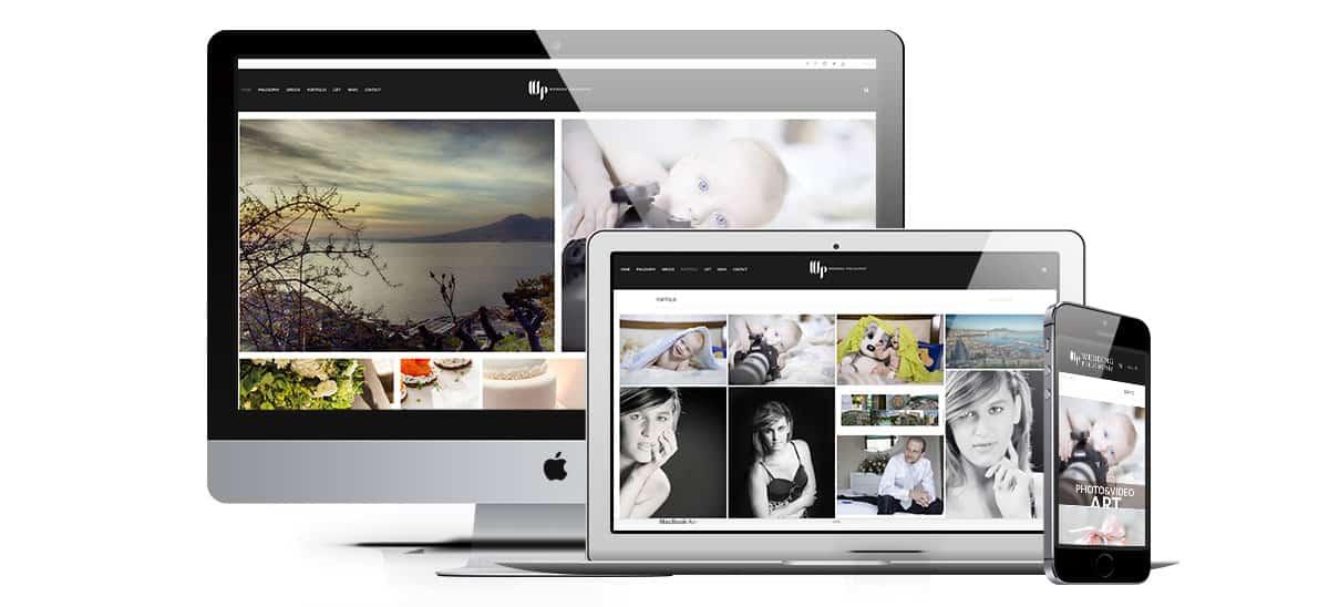wedding philosopy sito web 1 - Sito Web - Wedding Philosopy - Web Agency Napoli Flashex
