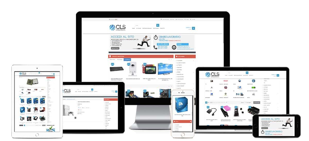 cls distribuzioni ecommerce informatica integrato con danea easy fatt