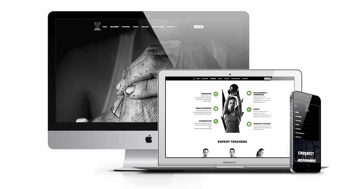 creazione sito web per crossfit fitness crossfit normanni