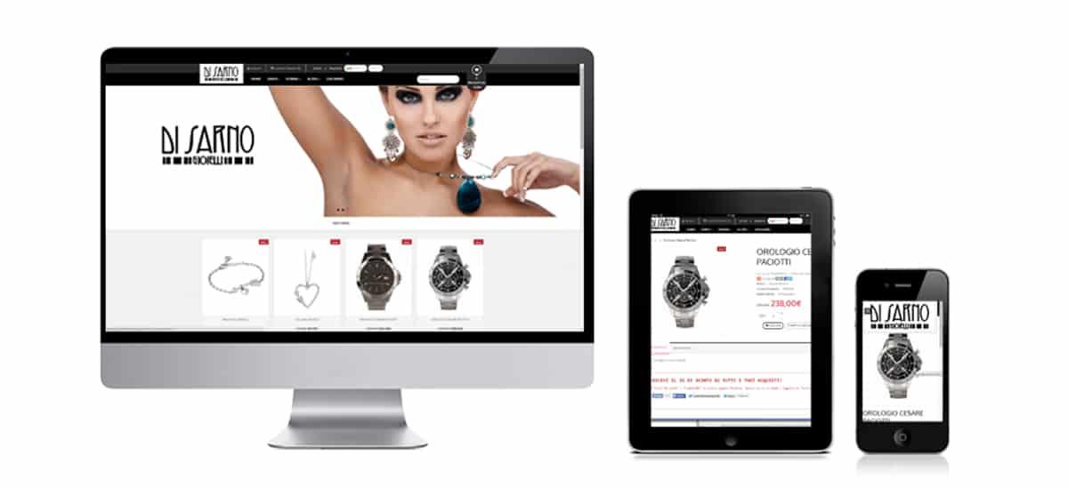 sito web gioielleria di sarno gioielli boscotrecase boscoreale napoli