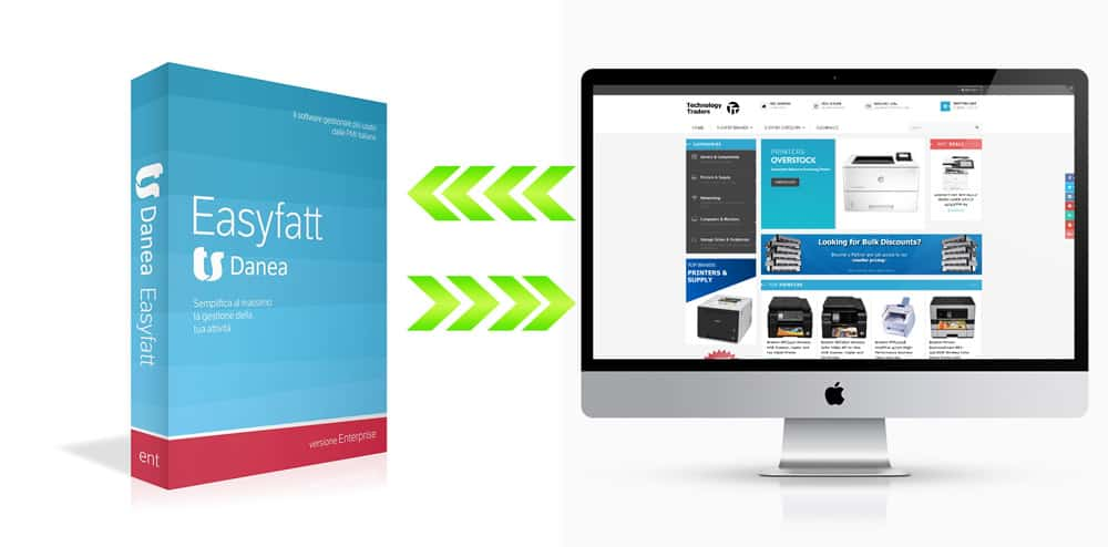 e commerce integrazione danea easy fatt flashex - Realizzazione E-commerce avanzati - Web Agency Napoli Flashex
