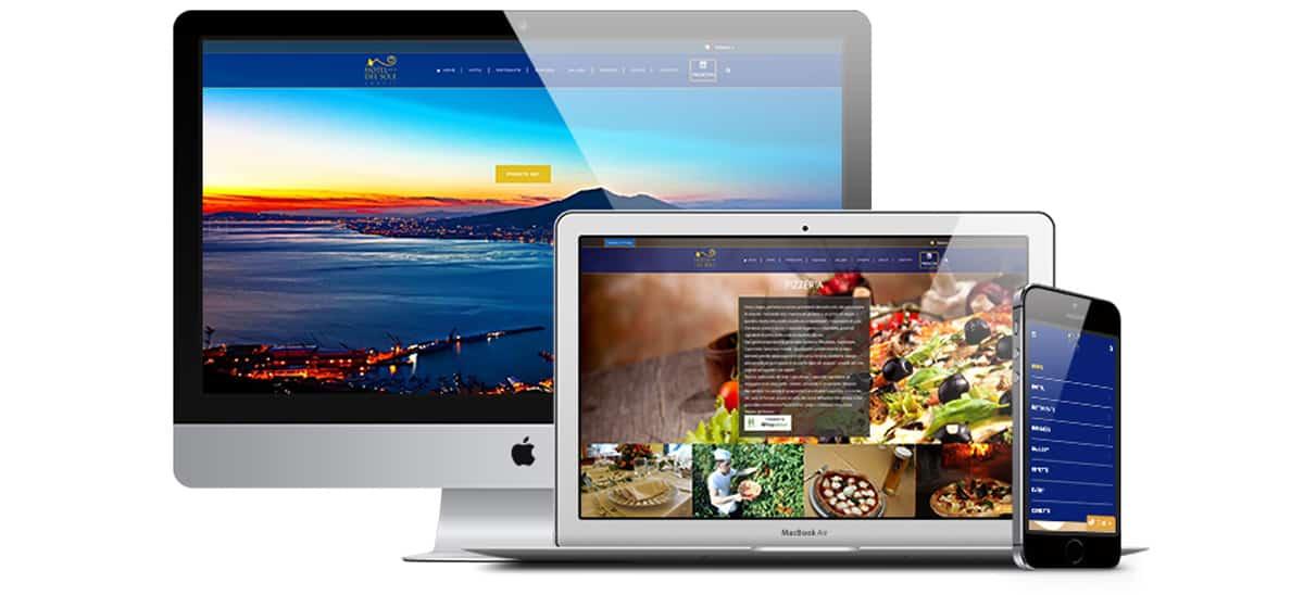 realizzazione sito web per hotel del sole pompei