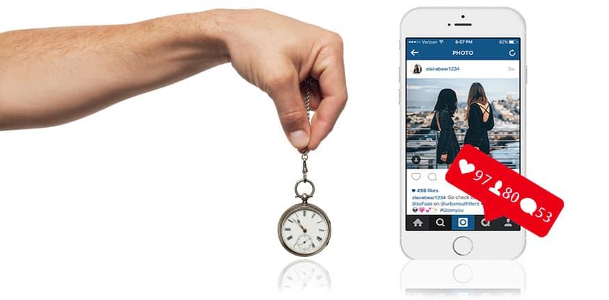 instagram gestione social media marketing ed orario di pubblicazione