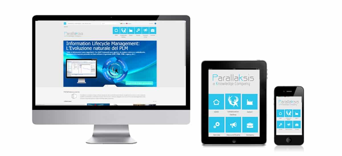 Realizzazione sito web per società di sviluppo software gestionali, aziendali, consulenza