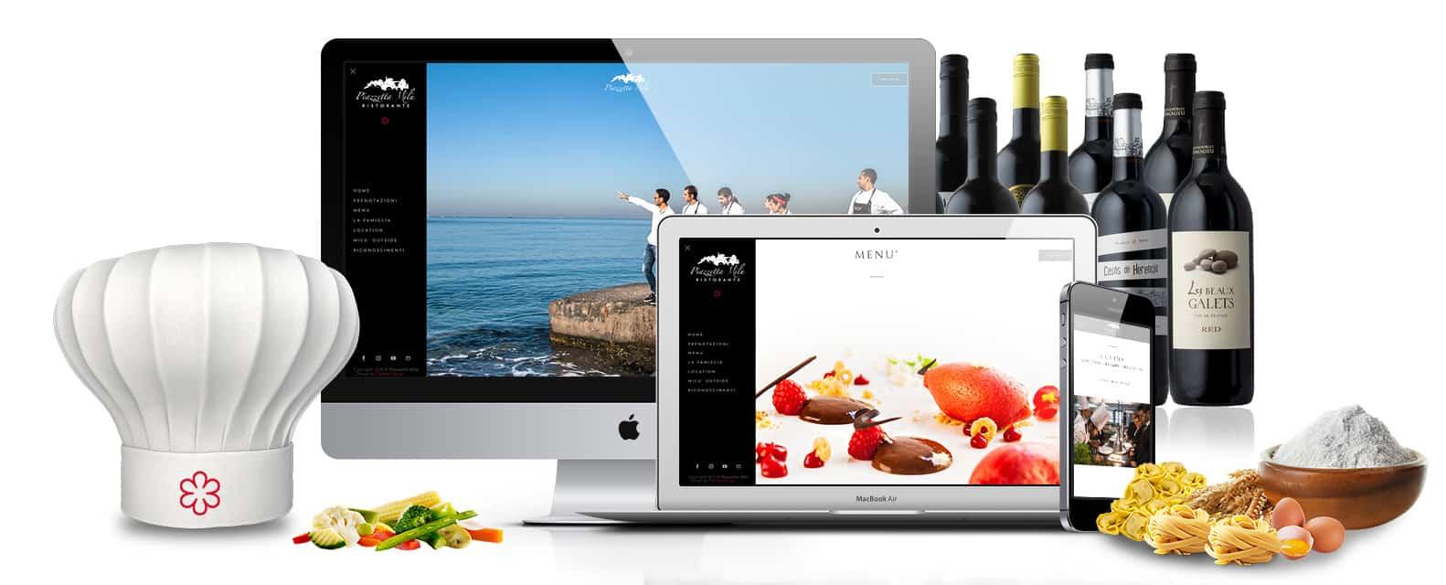 sito web ristorante stellato michelin piazzetta milu castellammare napoli