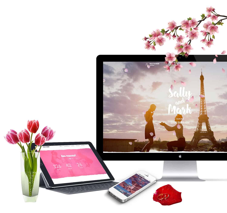 realizzazione siti web per matrimoni per agenzie di wedding planner napoli