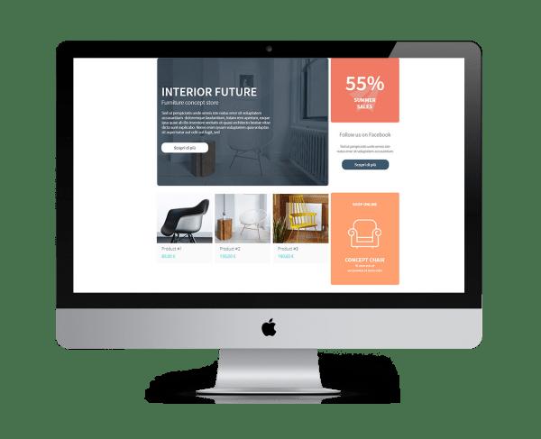 5 - Creare un sito Web Gratis con Makesito è facile - Web Agency Napoli Flashex