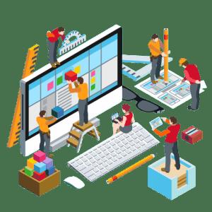 personalizzazione template , sitebuilder crea il tuo sito web gratis makesito