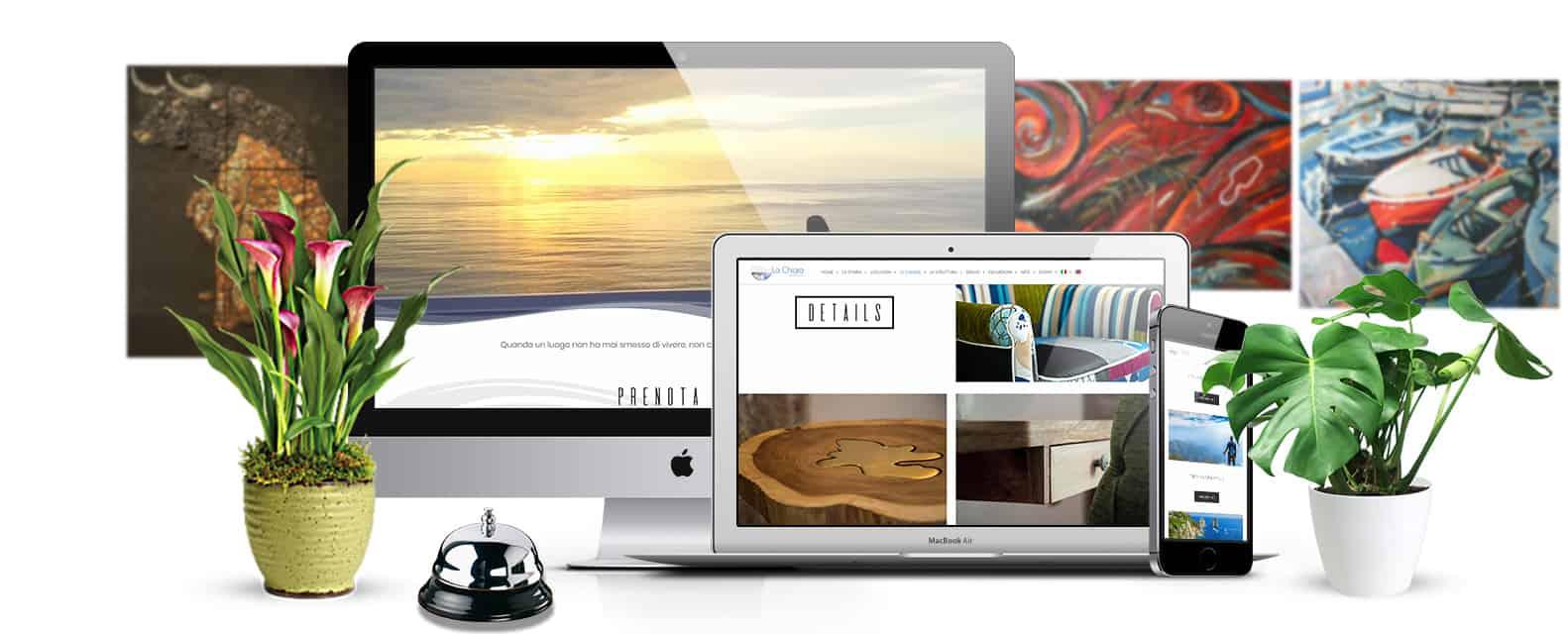 creazione sito web per albergo , hotel - La chiaja Art&relais Castellammare di stabia, Napoli
