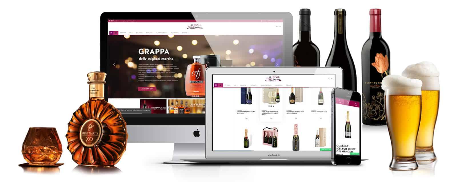 sudingrosso sito ecommerce napoli alimentari - Creazione sito Ecommerce Cash and Carry Napoli - Sudingrosso - Web Agency Napoli Flashex