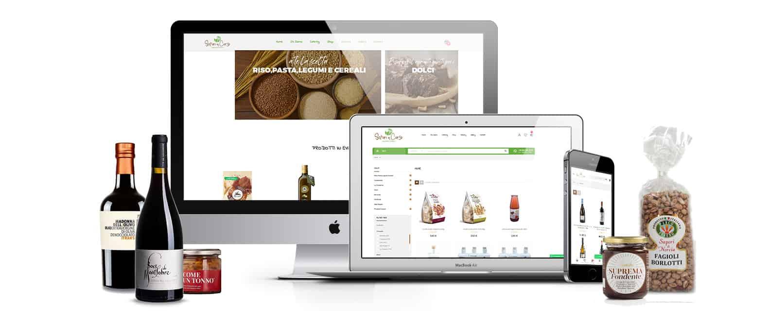 saporiincorso realizzazione sito ecommerce vendita prodotti alimentari tipici - E-commerce vendita prodotti alimentari tipici | Sapori in Corso - Web Agency Napoli Flashex