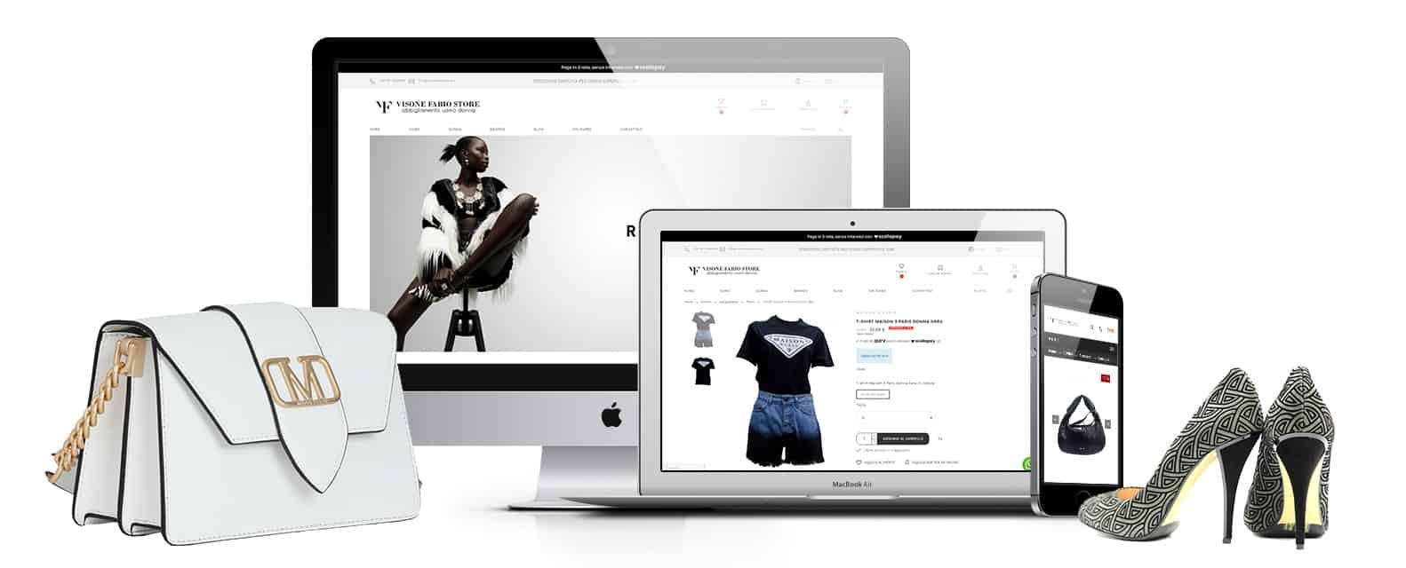 visonefabiostore negozio abbigliamento napoli - Ecommerce abbigliamento uomo,donna,   Visone Fabio Store - Web Agency Napoli Flashex